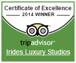 Trip Advisor - Certificate of Excellence 2014